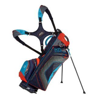 New Sun Mountain 2012 KG2 Golf Stand Bag (Navy/Lava