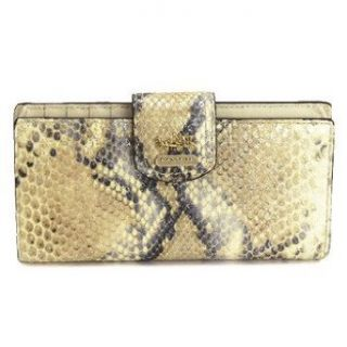 Edition Python Embossed Skinny Credit Card Wallet 47177 Natural Shoes