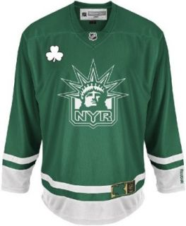 NHL New York Rangers St. Pattys Day Jersey Clothing