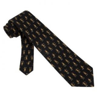 Sock Monkey Boys Silk Tie Necktie   Animal Print Neck Tie