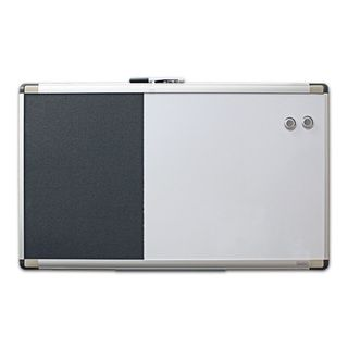 Quartet Magnetic Dry Erase/ Foam Bulletin Board (18x30)