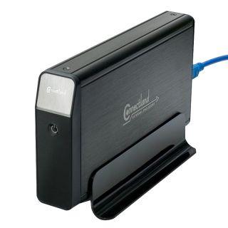 SYBA Black OEM USB 3.0 3.5 inch SATA HDD Enclosure CL ENC35019