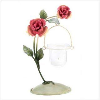 Tea Rose Votive Candle Holder Wedding Centerpiece Stand