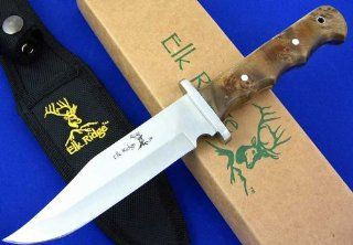 Elk Ridge ER 101 Fixed Blade Knife, 10.5 Inch Overall