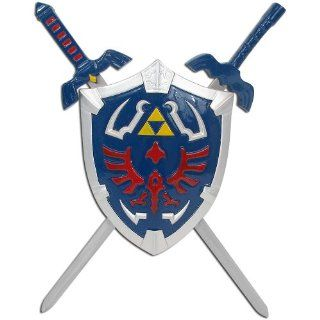 Trademark Legend Of Zelda Mini Sword Set with Shield