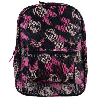 Disney Minnie Mouse All Over Print Mesh Backpack