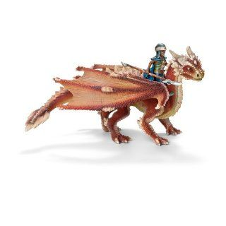 Schleich Young Dragon Rider Figure: Toys & Games