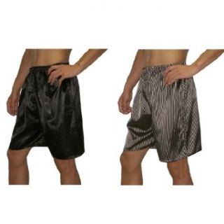 2 PACK SILK COUTURE Mens Sleepwear   Silk Boxer Shorts