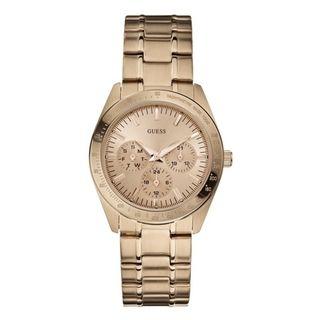 Guess Womens Feminine Chronograph Dress Watch