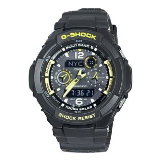 Casio Mens G Shock Aviator Series Analog digital Solar Atomic Watch