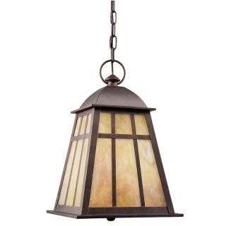 Prentiss 2 light Legacy Bronze Outdoor Pendant