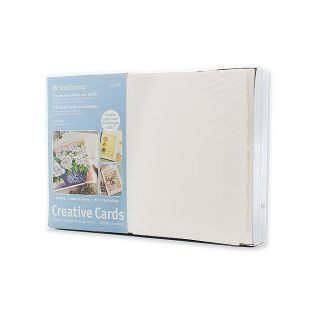Fluorescent White Greeting Cards (Pack of 50)