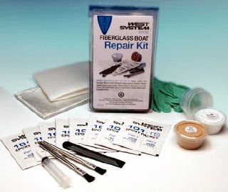 West System 105K Fiberglass Boat Repair Kit Sports