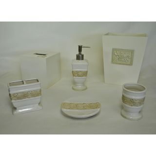 Sherry Kline Winchester 6 piece Bath Accessory Set