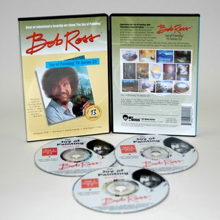 Weber Bob Ross DVD Joy of Painting Series 22. Featuring 13 Shows