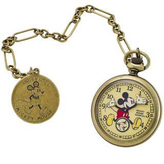 Ingersoll Womens Disney Mechanical Pocket Watch