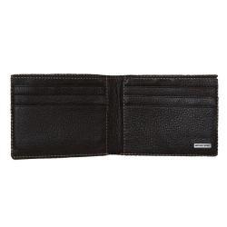 Michael Kors Mens Brown Leather Bi fold Wallet