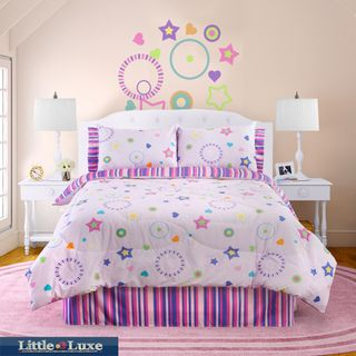 Glow In The Dark Star Glow 3 piece Twin size Comforter Set