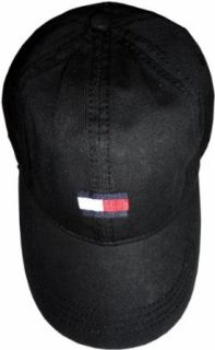 Mens Tommy Hilfiger Hat Ball Cap Black Clothing