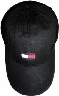Mens Tommy Hilfiger Hat Ball Cap Black Clothing