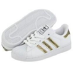 adidas Kids Superstar 2 Bling (Toddler/Youth) White/Black/Metallic