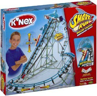 KNex Shark Run Roller Coaster   Motorized Building System