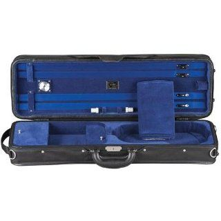 Shar Professional H Series Lightweight Violin Case Blue 4