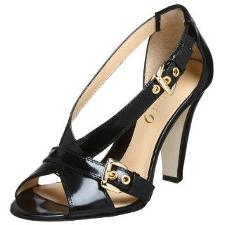 Boutique 9 Womens Shiala T Strap Sandal,Black,6 M US Shoes