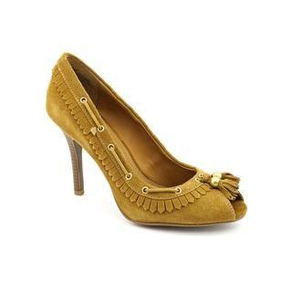 Mia Womens Hannah Regular Suede Dress Shoes