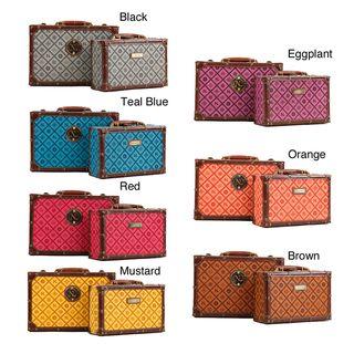 Nicole Lee Adela NL Signature Briefcase Twin Combo Set