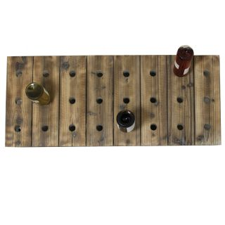 Casa Cortes 24 bottle Wood Wine Rack Today: $122.99