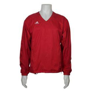 Adidas Big Game Mens ClimaLite Red Windshirt