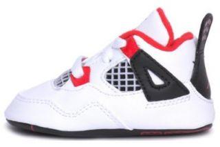JORDAN 4 RETRO Style# 487219 110 CRIB Size 2 Shoes