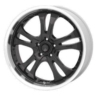 American Racing Casino AR393 Gloss Black Wheel with Machined Lip (16x7