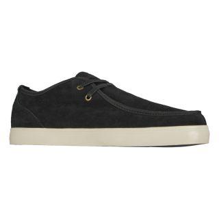 Lugz Mens Sparks Suede Black/ Bone Shoes