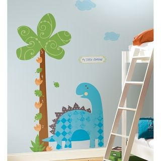 Babysaurus Peel & Stick Growth Chart Wall Decals