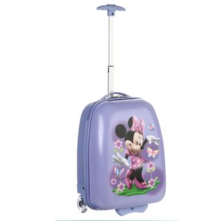 Disney Minnie Mouse 16 inch Kids Molded Carry on Rolling Upright
