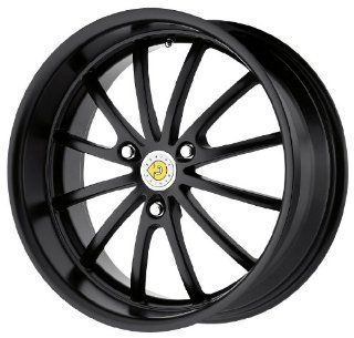 Genius Wheel Darwin Matte Black Wheel (15x6.5/3x112mm)