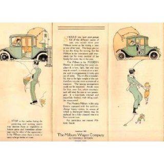 1918 MILBURN Brougham Elecric Car Brochure Everyhing