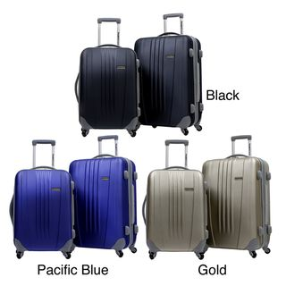 Travelers Choice TC3302 Toronto 2 piece Hardside Expandable Checked