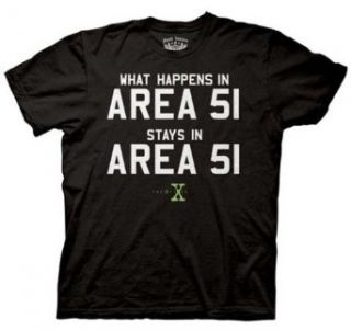The X Files Area 51 Black T shirt Tee Clothing