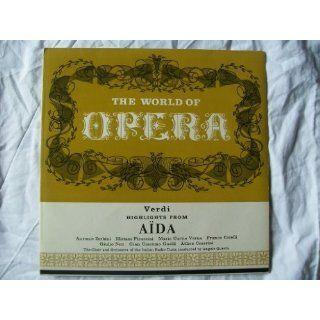 OH 112 Verdi Aida OIRT Angelo Questa LP: Angelo Questa