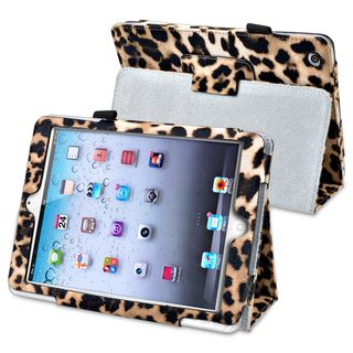 BasAcc Brown Leopard Leather Case with Stand for Apple® iPad Mini