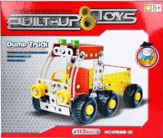 Built Up Toys Dump Truck 113 Piece Alloy Based