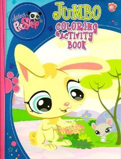 Littlest Pet Shop Jumbo Coloring & Activity Book ~ Bunny