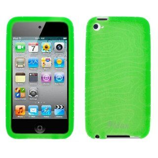 GTMax Durable Soft Rubber Silicone Skin Cover Case   Green