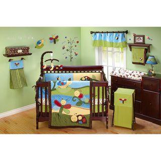 NoJo Critter Babies 14 piece Crib Bedding Set