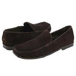 Tommy Bahama Malta Dark Brown Suede Loafers