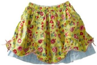 Oilily Girls 2 6x Shaza Double Layer Skirt Clothing