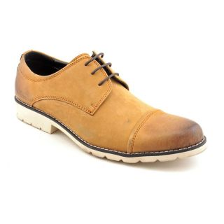 Kenneth Cole Reaction Mens Huh Raw Leather Casual Shoes Today $92